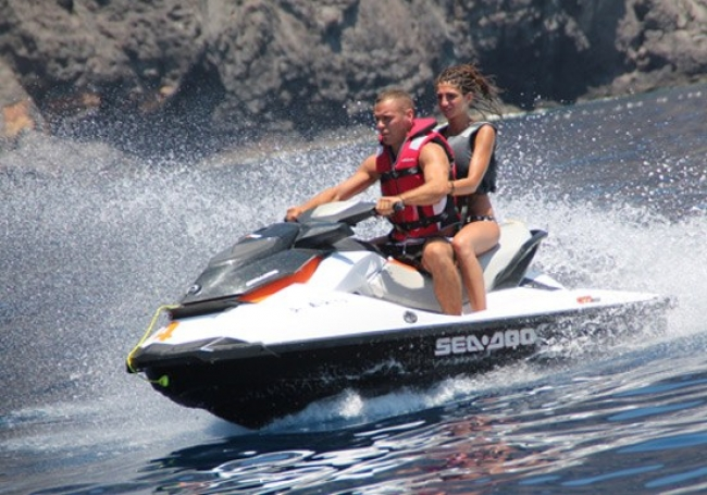 Jet Ski to Papagayo Bay