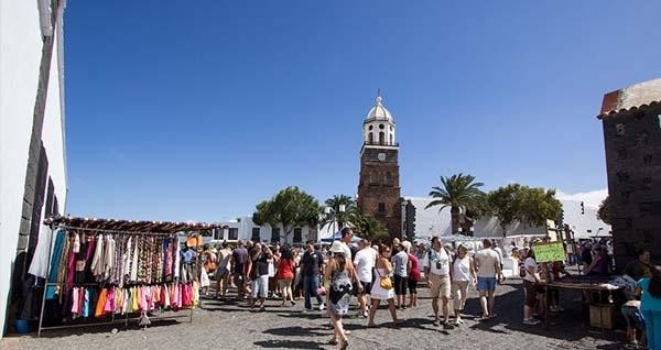 Teguise Market From Puerto Del Carmen or Teguise