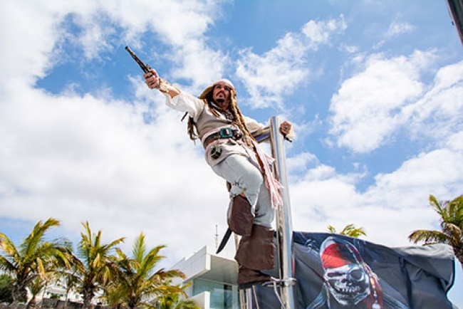 Lanzarote Boat Trip Pirate Themed