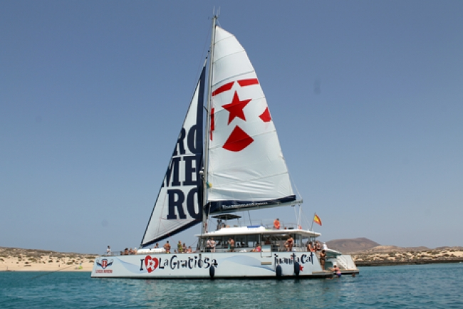 I Love La Graciosa Catamaran